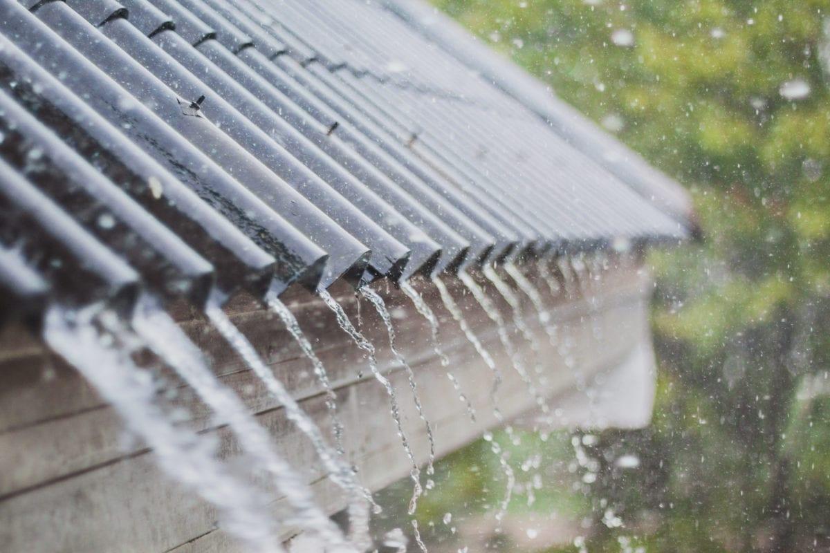 Heavy Rain On roof