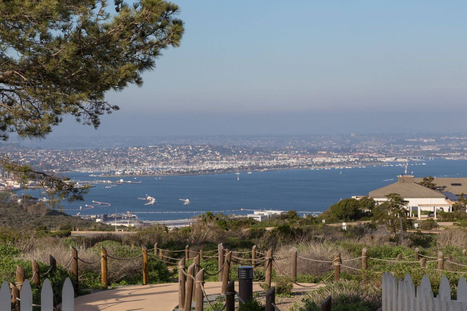 Trail in Point Loma, California